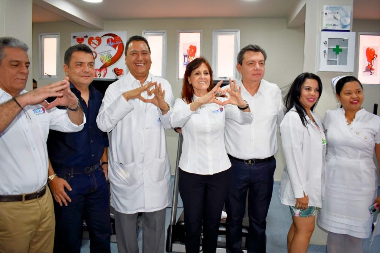 Gobernación pone al servicio de los magdalenenses atención en cardiología en el Hospital Julio Méndez Barreneche