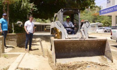 Essmar retiró 26 toneladas de sedimento en el barrio Bastidas