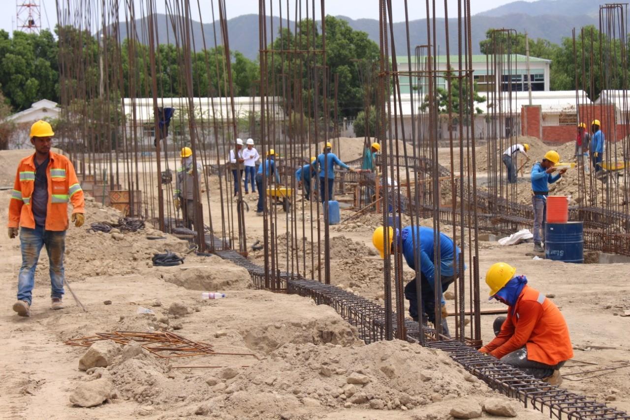 Con una inversión de $25 mil millones avanza la construcción del Polideportivo del Sur