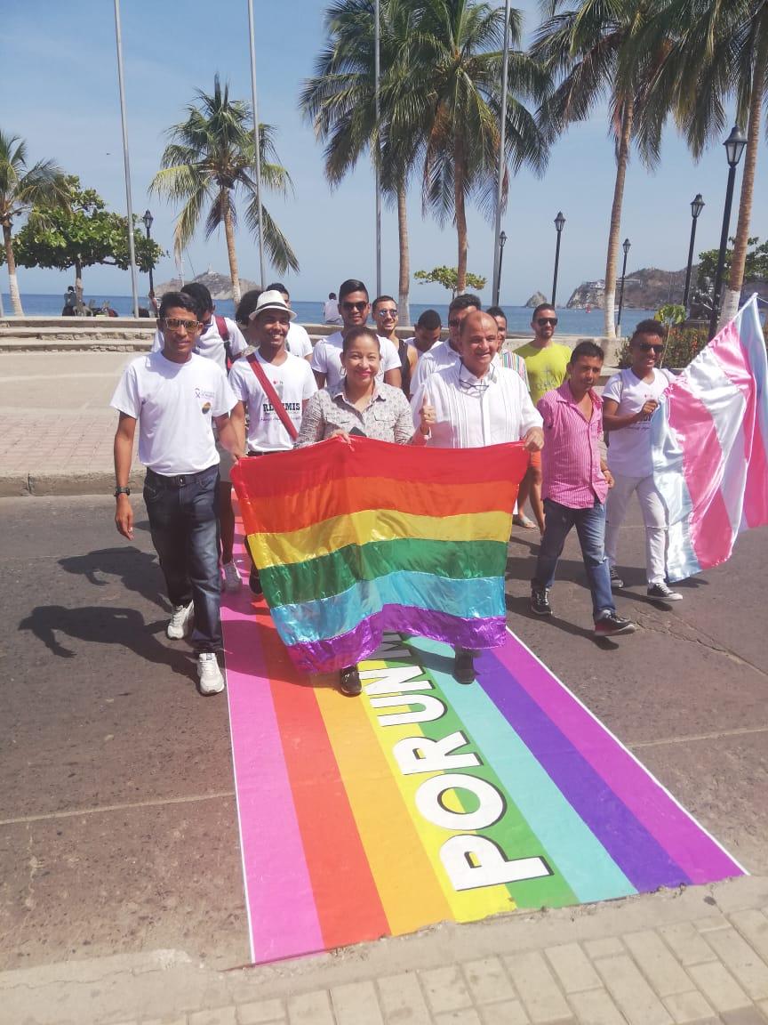 Gobierno departamental ratifica su compromiso con la diversidad y los derechos humanos