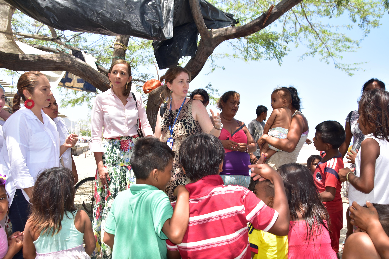 Indígenas Yukpas recibieron atención médica