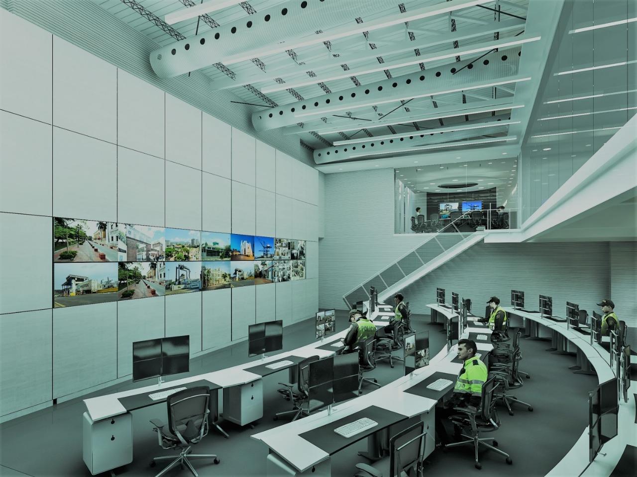 Santa Marta contará con una moderna sala de vigilancia y control
