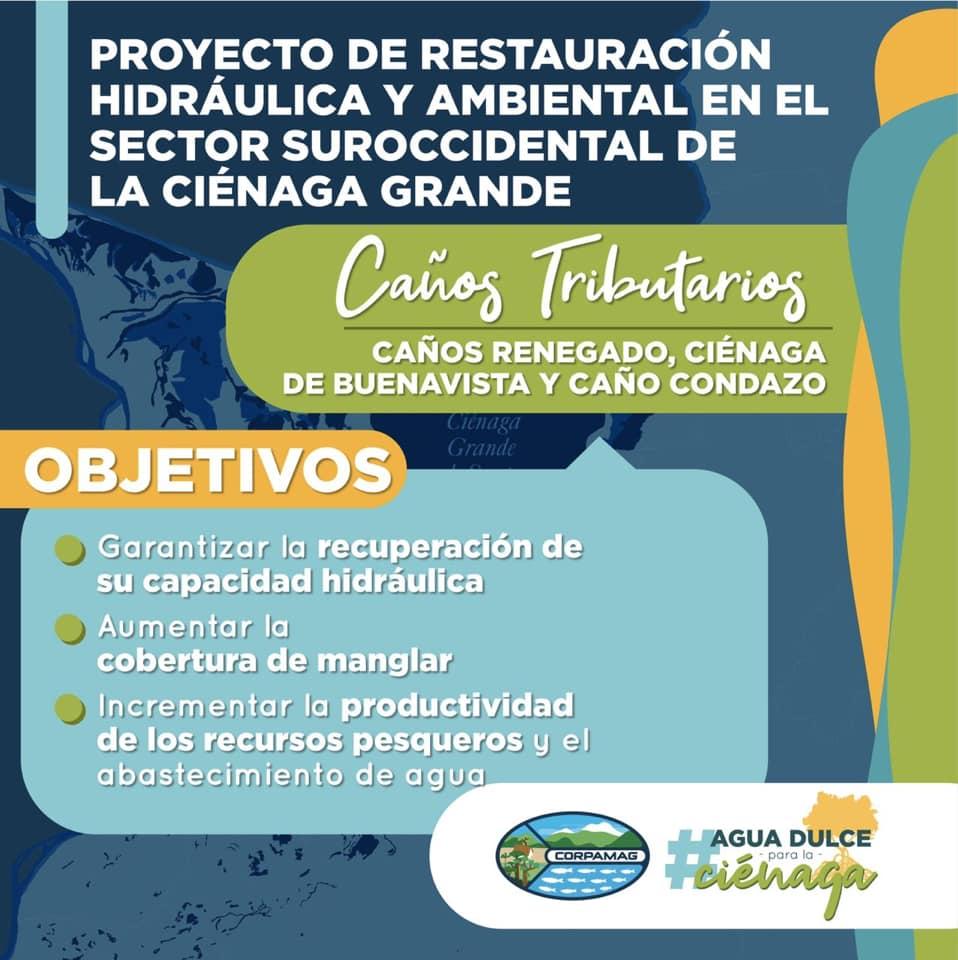 Corpamag iniciará obras de recuperación en el sector suroccidental de la Ciénaga Grand (1)
