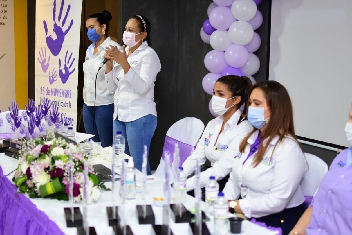 En Ciénaga Realizan evento de conmemoración del Día Internacional contra la Violencia de Géner (1)