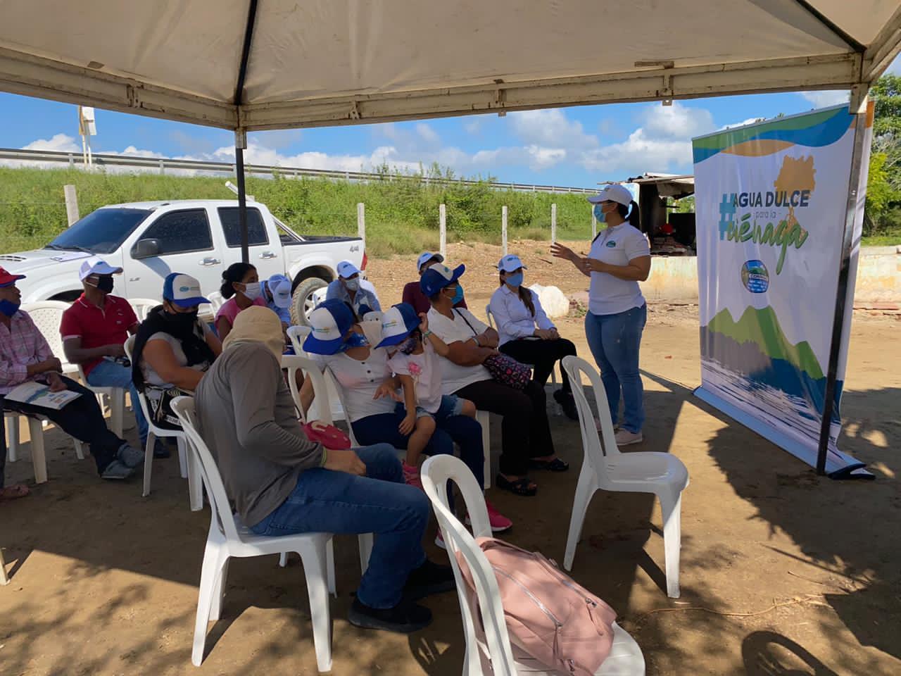 Corpamag finaliza obras en el Caño El Burro, municipio de Sitionuevo (1)