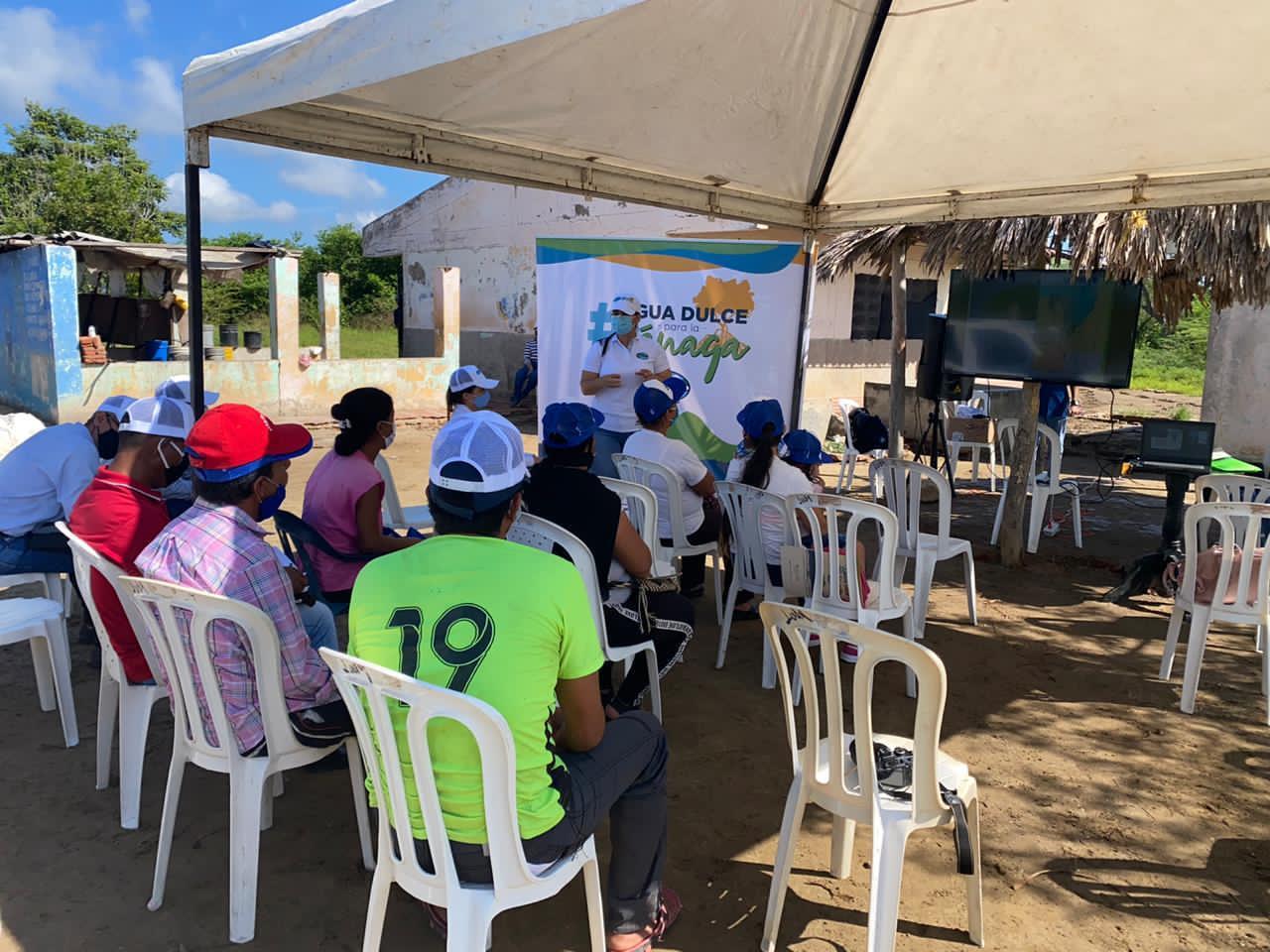 Corpamag finaliza obras en el Caño El Burro, municipio de Sitionuevo (2)