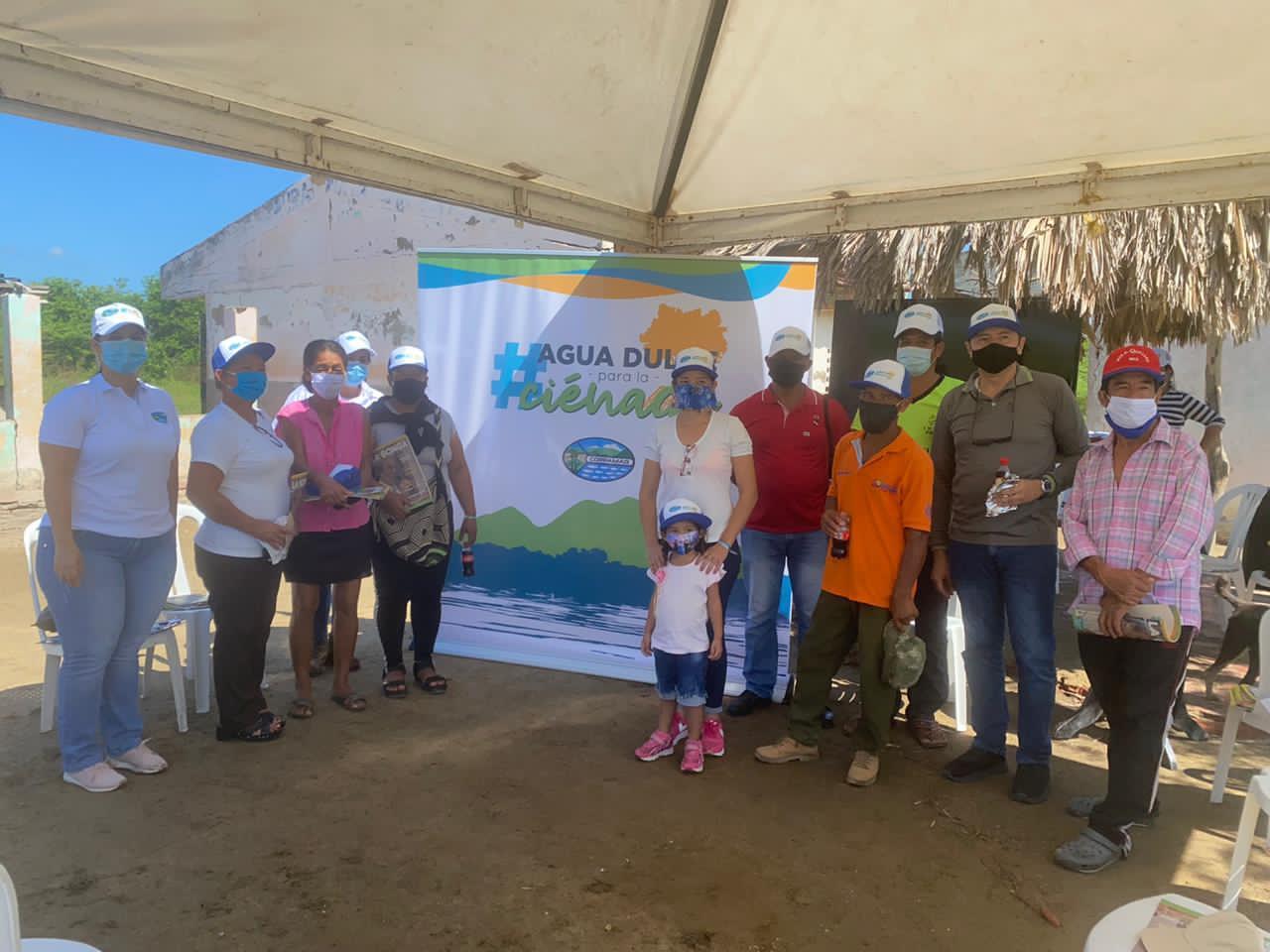 Corpamag finaliza obras en el Caño El Burro, municipio de Sitionuevo (4)