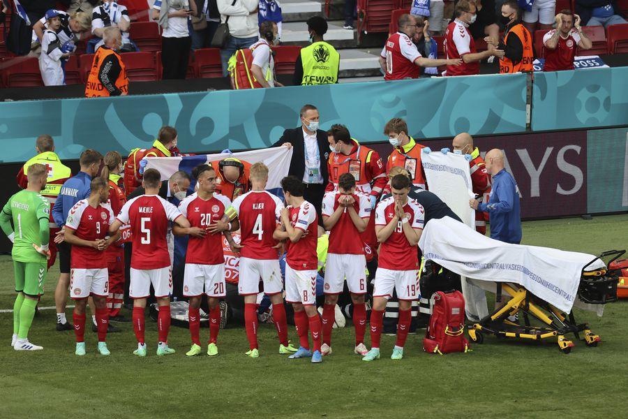En la Eurocopa, jugador danés Ericksen, se desplomó en la cancha – Opinion Caribe